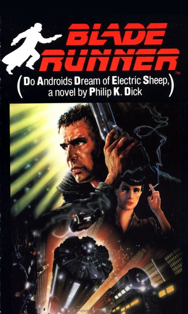 BLADE RUNNER - A movie about androids that looked like humans.
